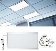 Hengda® 24W Eckig LED Panel 1920LM Pendelleuchte Einbau Neutralweiß Deckenleuchte 4000K-4200K Ultraslim Leuchte für Büros Kinderzimmer Küche Garderobe bad