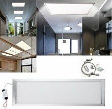 Hengda® 36W Rostfrei LED Panel Wohnzimmer Pendelleuchte Schlafzimmer Badezimmer Deckenleuchte Ulitraslim 4014 SMD Lampe Leuchte AC85V-265V Kaltweiß