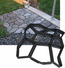 Hengda® 3x Betonform Pflasterform Schalungsform