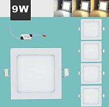 Hengda 5x9W Eckig LED Panel LED Lichtfarbe