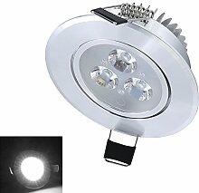 Hengda® 8 Stück LED Einbaustrahler 3W Dimmbar