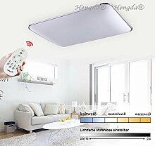 Hengda 96W LED Deckenleuchte Küchen Badleuchte