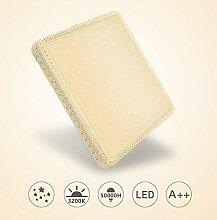 Hengda Deckenlampe Wohnzimmer Warmweiss 60w LED