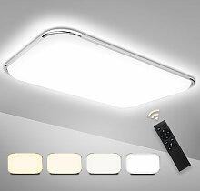 Hengda LED Deckenleuchte Dimmbar, 4320LM Flurlampe