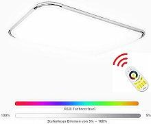 Hengda Led Deckenleuchte RGB 96W Dimmbar