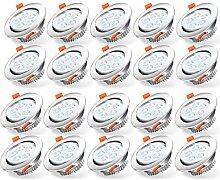 Hengda LED Einbaustrahler Dimmbar 20x 5W 230V