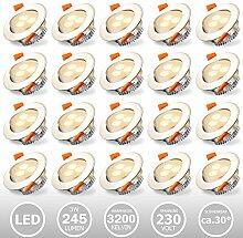 Hengda LED Einbaustrahler Schwenkbar