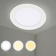 Hengda LED Panel 10er Set Einbaustrahler 12W LED