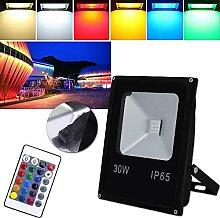 Hengda® LED RGB Fluter Scheinwerfer außen