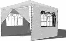 Hengda Pavillon 3x3m Wasserdicht Gartenpavillon,