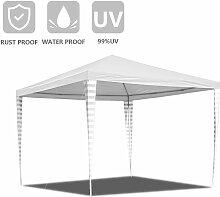 Hengda - Pavillon 3x3m Wasserdicht und UV-Schutz