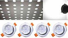 Hengda Ultra Flach LED Einbaustrahler| auch für