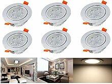 Hengda® Ultra Flach LED Einbaustrahler Warmweiß