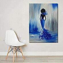 Henggfdoil Gemälde Leinwandbild Abstrakte