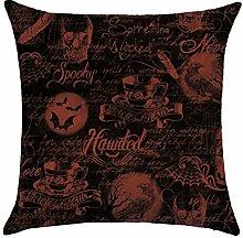 hengjiang Halloween Kissen Hexe Demon Specter