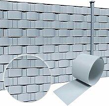 HENGMEI 10 Stück Sichtschutzstreifen Hart PVC