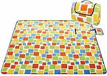 HENGMEI 150 x 200CM Faltbare Picknickdecke