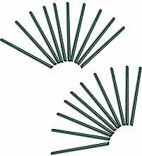 HENGMEI 30 Stück PVC sichtschutzstreifen grün