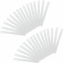 HENGMEI 30 Stück PVC sichtschutzstreifen
