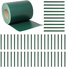 HENGMEI 50 Stück PVC sichtschutzstreifen grün