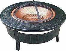 HENGMEI Φ81cm Multifunktional Feuerschale