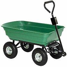 HENGMEI Gartenkarre Handwagen Gartenwagen