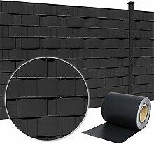 HENGMEI PVC Sichtschutzstreifen 35m x 19cm mit
