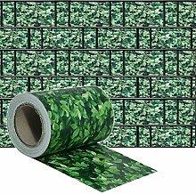 HENGMEI PVC Sichtschutzstreifen 65m x 19cm mit