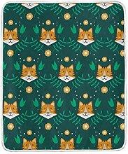 hengpai Frame Concept Cute Dog Print Decke Soft