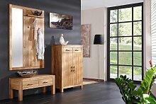 Henke Möbel, Garderoben Set Casa, Wildeiche,