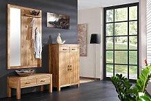 Henke Möbel, Spiegel-Wandpaneel Casa, Wildeiche,