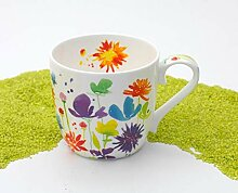 Henkelbecher Porzellan Victoria Lowe - Full Bloom