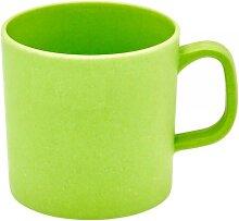 Henkelbecher, Tasse Bambus apfelgrün für 350ml  Magu NATUR DESIGN (4,95 EUR / Stück)