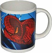 Henkeltasse Spider-Man groß - Keramik Tasse mit Henkel Porzellantasse Spider Man the Amazing Trinktasse