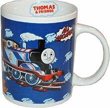Henkeltasse Thomas and Friends Porzellan groß - Keramik Trinktasse Tasse Porzellantasse Freunde