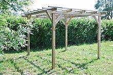Henley Holzpavillon. Überdachung aus Fichtenholz sehr günstig
