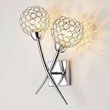 Henley Kristall Wandleuchte Modern Design Lampe