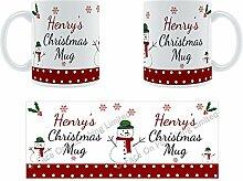 Henry'Weihnachten Becher, Tasse, Keramik,
