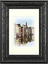 Henzo Capital Amsterdam 20x30 schwrz Bilderrahmen,
