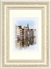 Henzo Capital Amsterdam 20x30 Weiss Bilderrahmen,