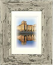 Henzo Capital Berlin 13x18 Weiss Bilderrahmen,