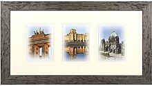 Henzo Capital Berlin 3x13x18 Bronze Bilderrahmen,