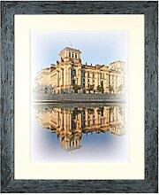 Henzo Capital Berlin 40x50 blau Bilderrahmen,