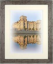 Henzo Capital Berlin 40x50 Bronze Bilderrahmen,