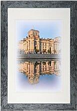 Henzo Capital Berlin 40x60 blau Bilderrahmen,