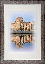 Henzo Capital Berlin 40x60 Bronze Bilderrahmen,