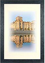 Henzo Capital Berlin 40x60 schwar Bilderrahmen,