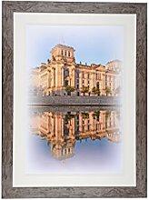 Henzo Capital Berlin 50x70 Bronze Bilderrahmen,