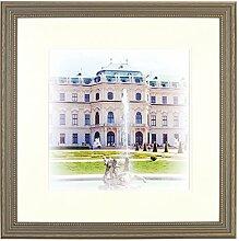 Henzo Capital Wien 40x40 Bronze Bilderrahmen,