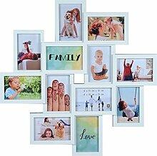 Henzo Friends Gallery für 12 Fotos Weiss